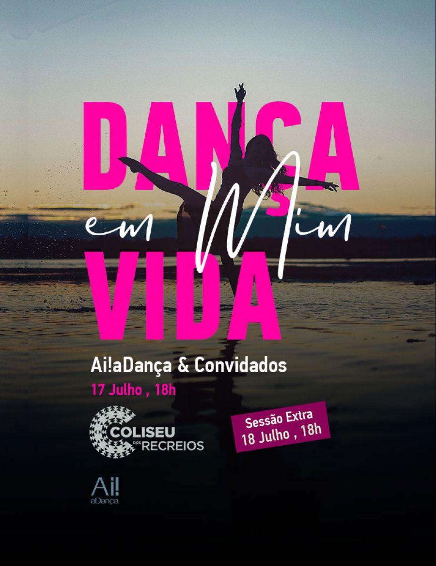 """""""Dança em Mim, Vida"""" com data extra no Coliseu dos Recreios"""