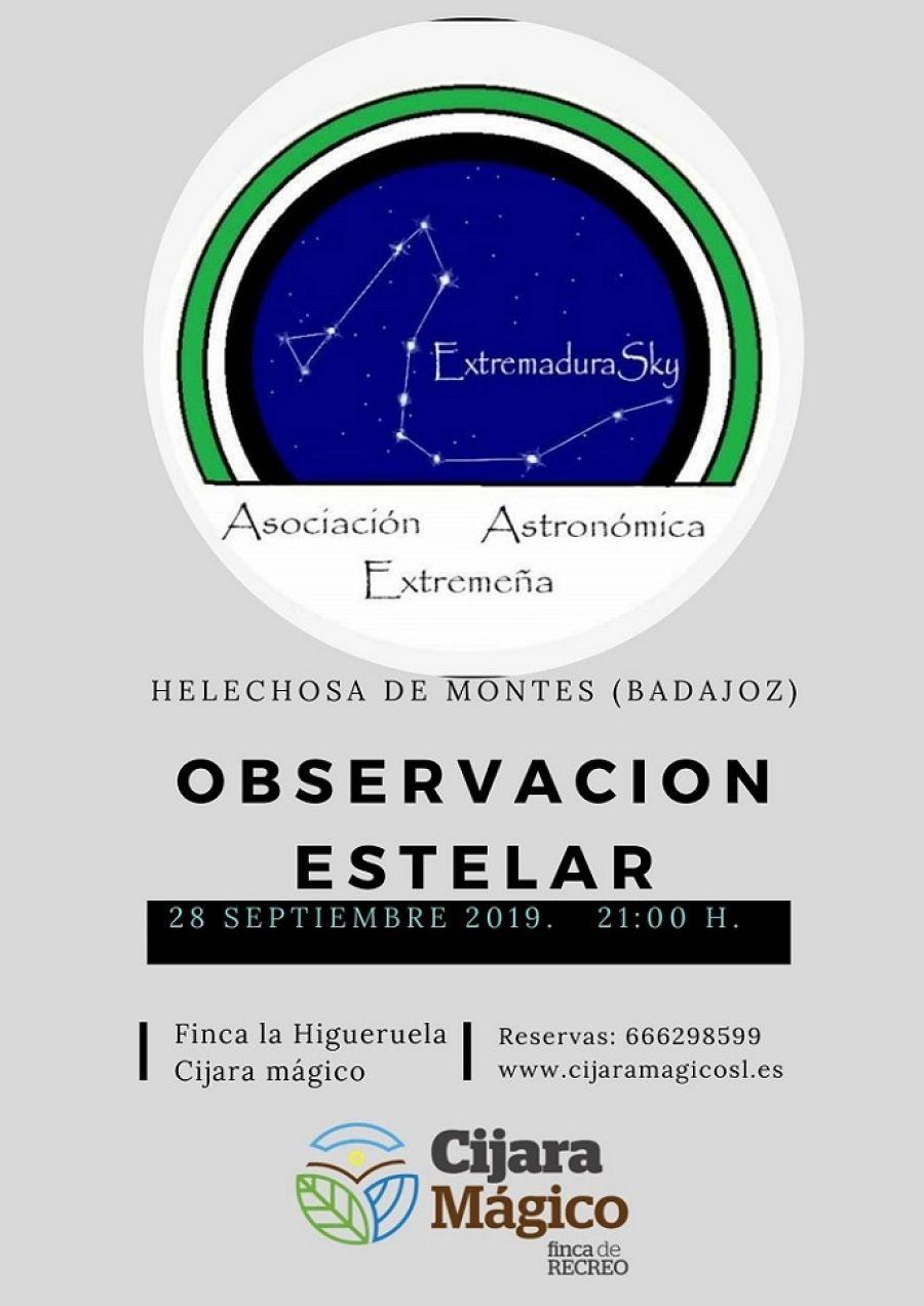 Observación Estelar