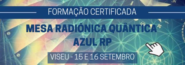 Mesa Radiónica Quântica Azul RP - Formação Certificada VISEU