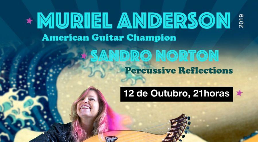 Concerto Muriel Anderson e Sandro Norton
