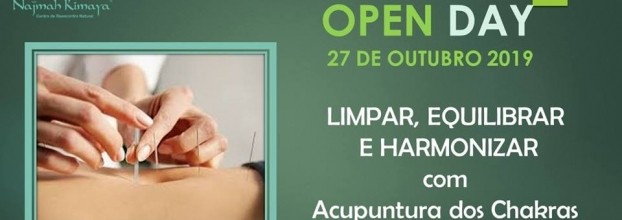 Open Day - Acupuntura dos Chakras