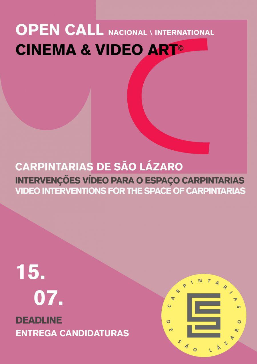OPEN CALL CINEMA & VÍDEO ARTE