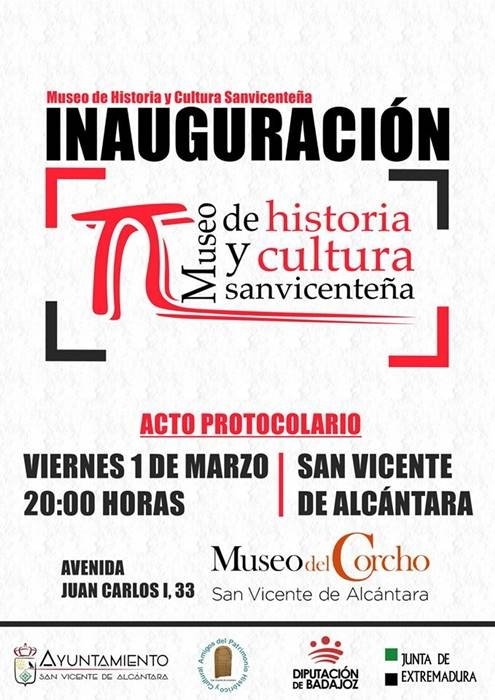Inauguración del Museo de Historia y Cultura Sanvicenteña