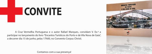 Lançamento do livro 'Encantos turísticos do Porto e Vila Nova de Gaia'