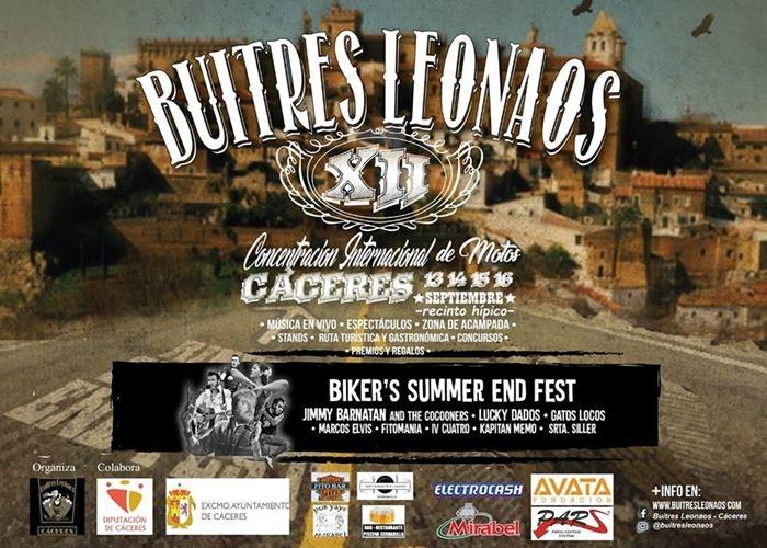 XII Concentra de MOTOS Buitres Leonaos - Biker's Summer End Fest