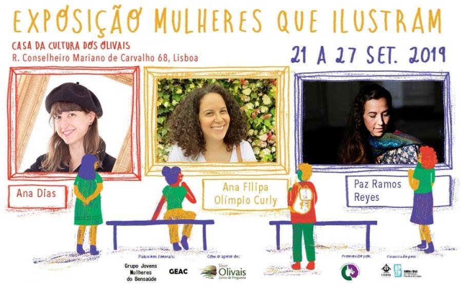 Exposição 'Mulheres que Ilustram' + Serão de Contos com Bru Junça