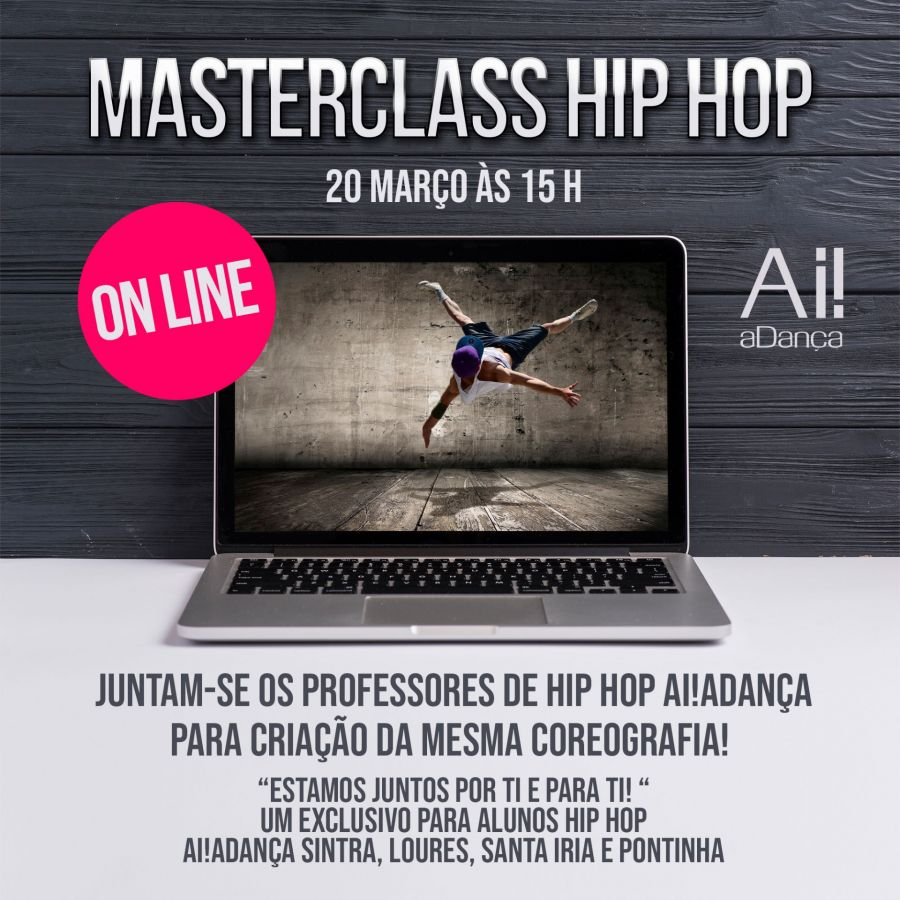 Masterclass Hip Hop Ai!aDança