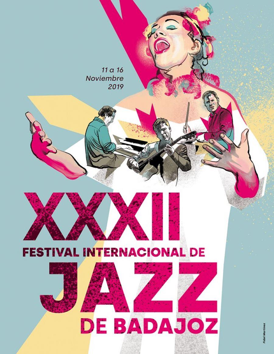 XXXII FESTIVAL INTERNACIONAL DE JAZZ DE BADAJOZ 2019