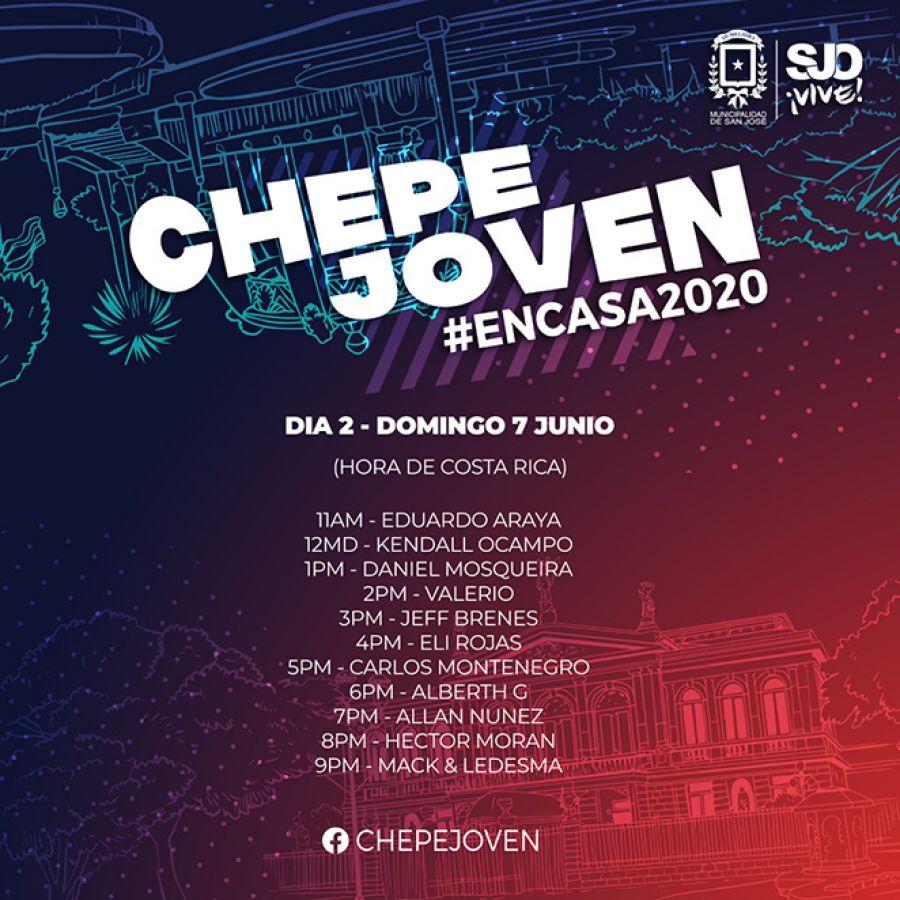 Chepe Joven #encasa2020. Día 2