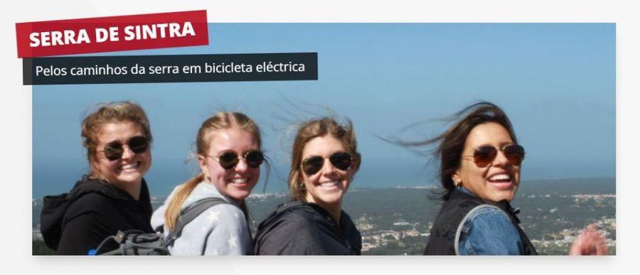 Visita guiada - Serra de Sintra (Bicicleta eléctrica)
