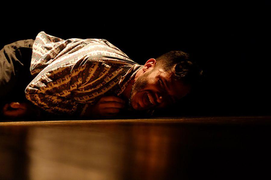 12 Encuentro Nacional de Teatro. Memoria de pichón. Fabio Pérez y Andy Gamboa Arte Escénico