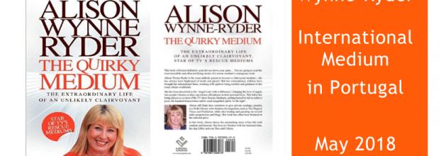 Médium em Portugal - Alison Wynne-Ryder