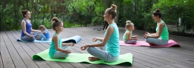 Meditação de Crianças e Pais