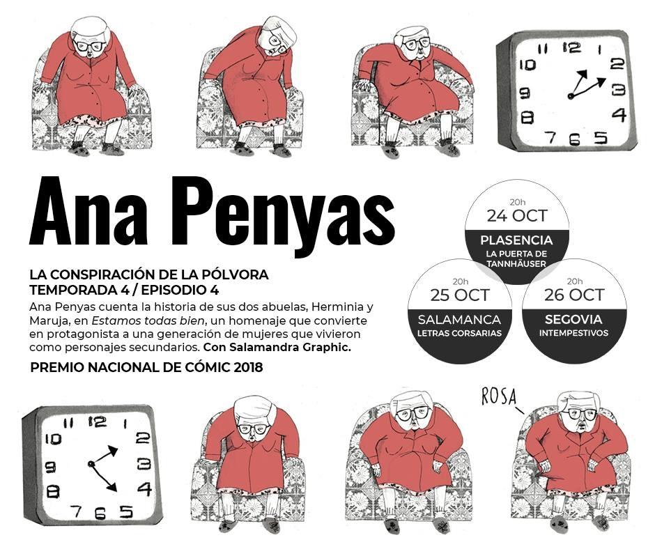 Ana Penyas 'La conspiración de la polvora' || presentación