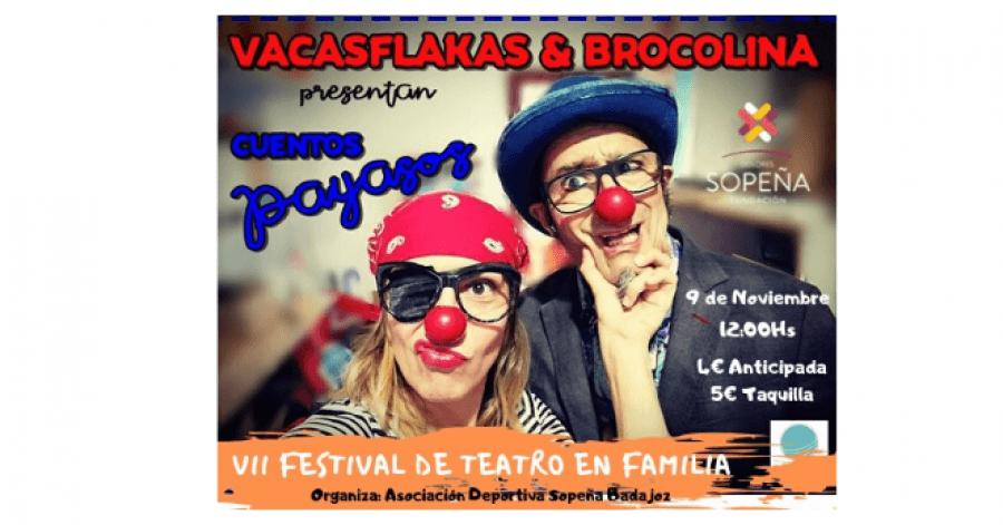 2º Espectáculo del VII Festival de Teatro en Familia en el Teatro del Colegio Sopeña Badajoz