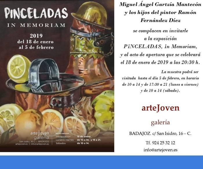 Exposición 'Pinceladas', de Ramón Fernández Díez