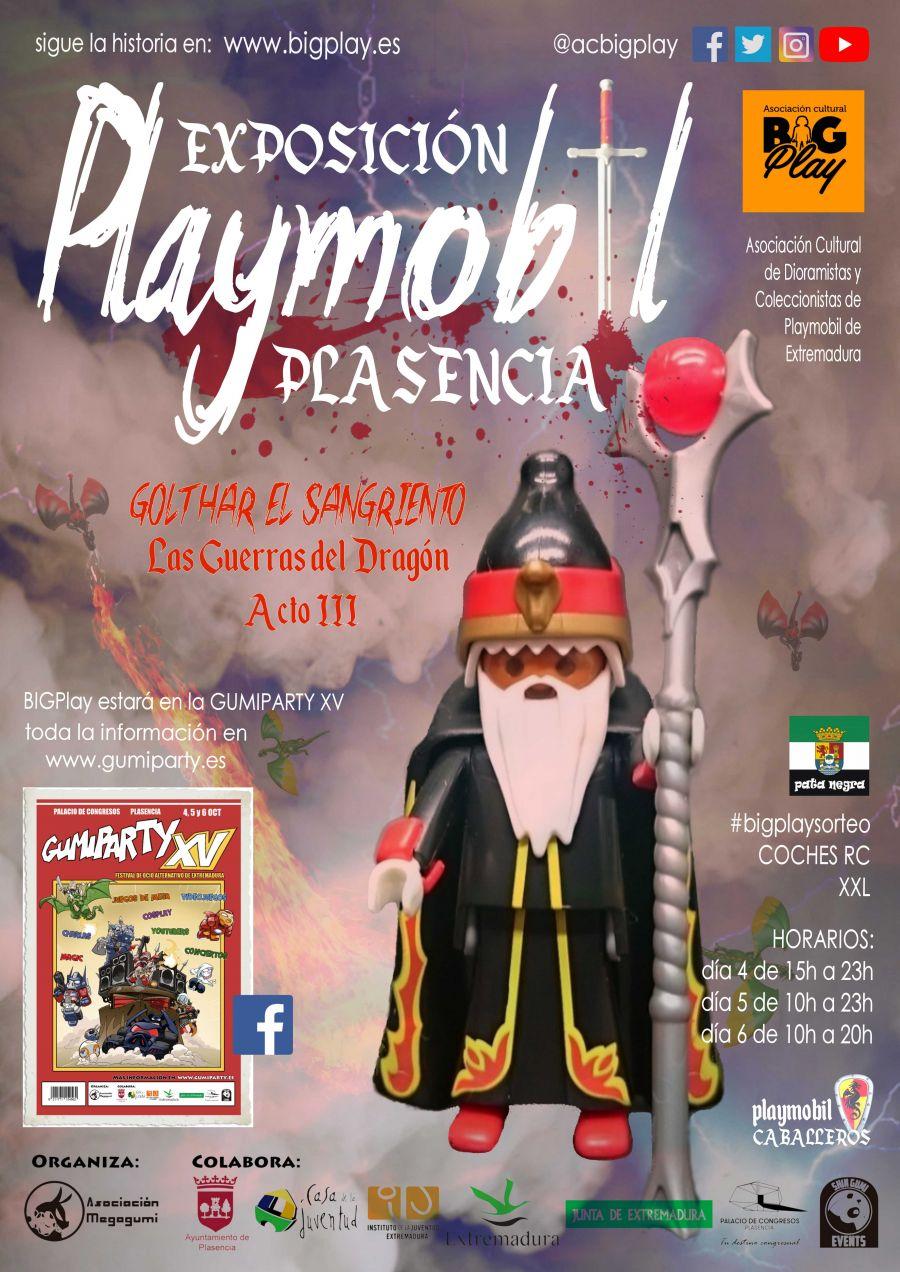 Exposición Playmobil en GUMIPARTY XV