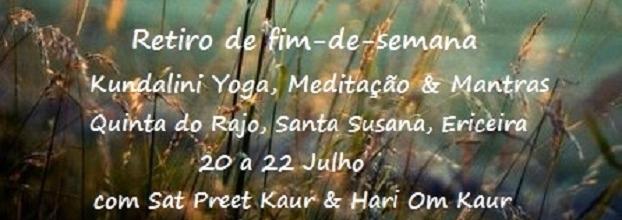Retiro de Kundalini Yoga, Meditação & Mantras