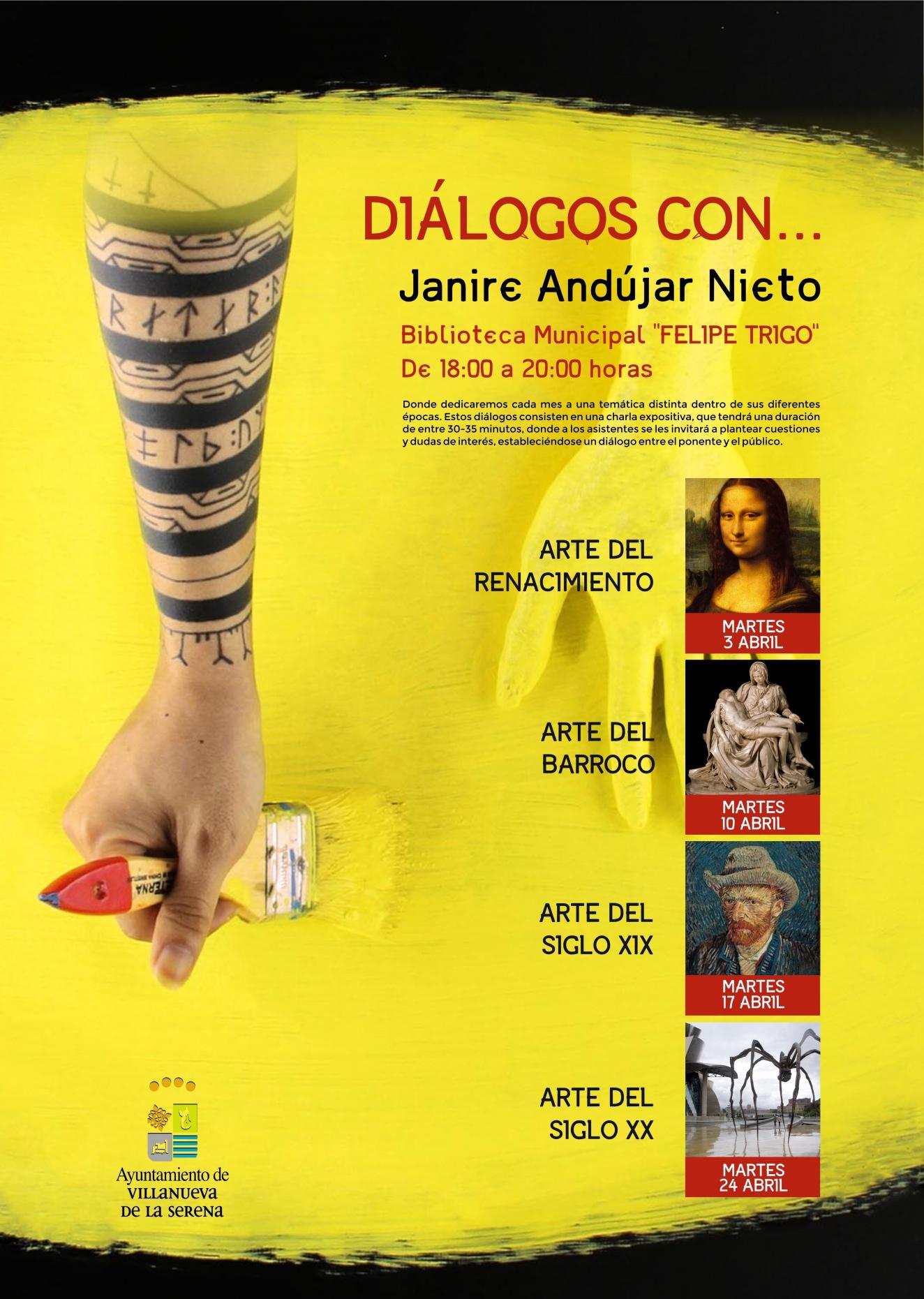 Diálogos con Janire Andújar Nieto