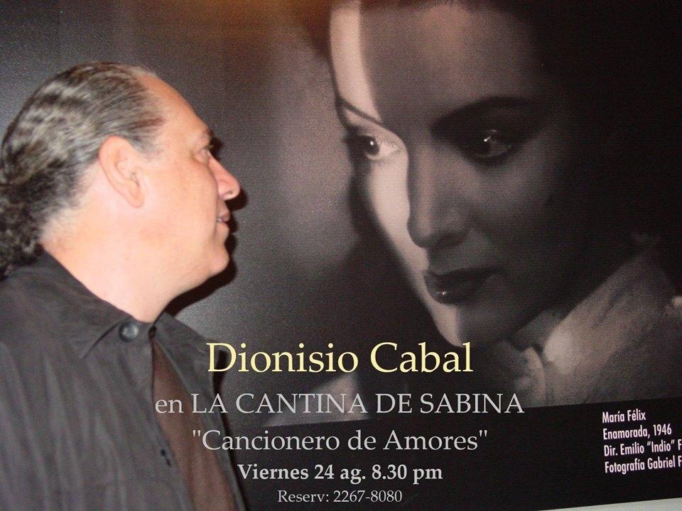 Cancionero de amores con Dionisio Cabal