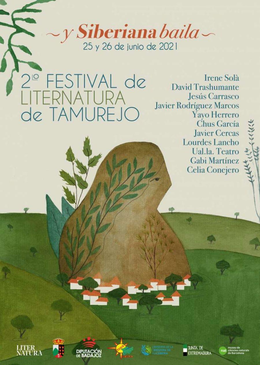 SIBERIANA 2021   2º Festival de literatura de Tamurejo