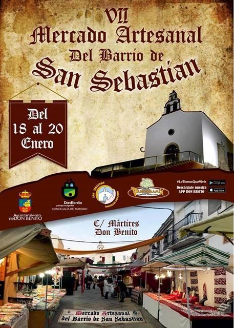 VII Mercado Artesanal del Barrio de San Sebastián