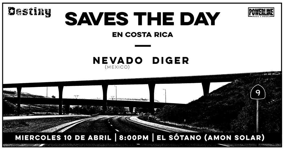 Concierto. Saves the Day. Banda, pop-punk