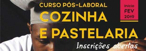 FORMAÇÃO PÓS-LABORAL EM COZINHA E PASTELARIA (MONTIJO)