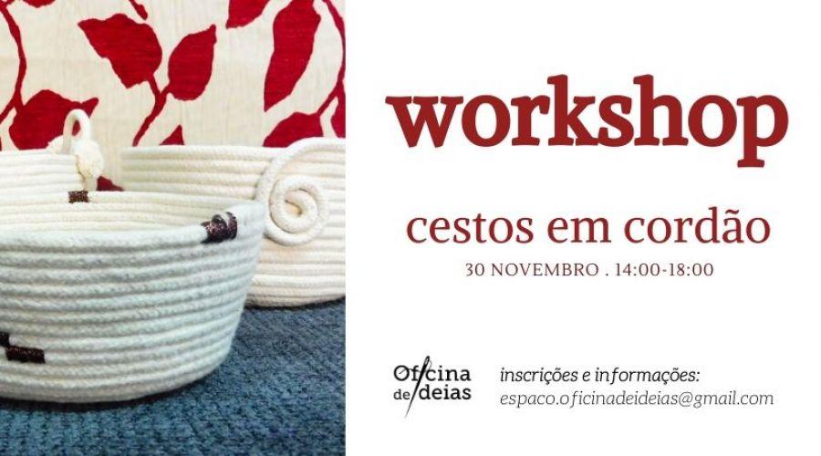 Workshop 'Cestos em Cordão'