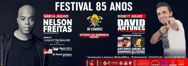 Festival 85 Anos Bombeiros Voluntários de Esmoriz