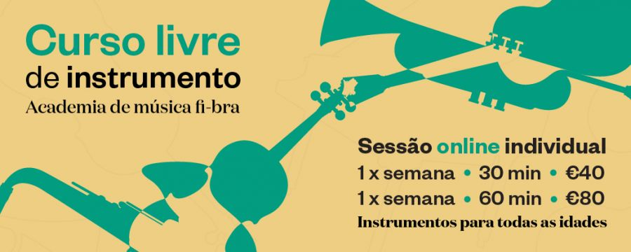 Curso livre de instrumento (presencial ou online)