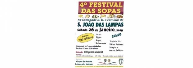 4º FESTIVAL das SOPAS