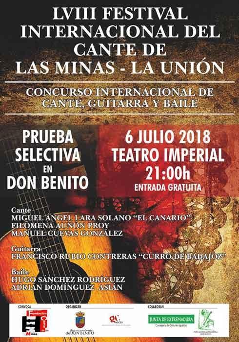 LVIII Festival Internacional del Cante de las Minas // Prueba Selectiva