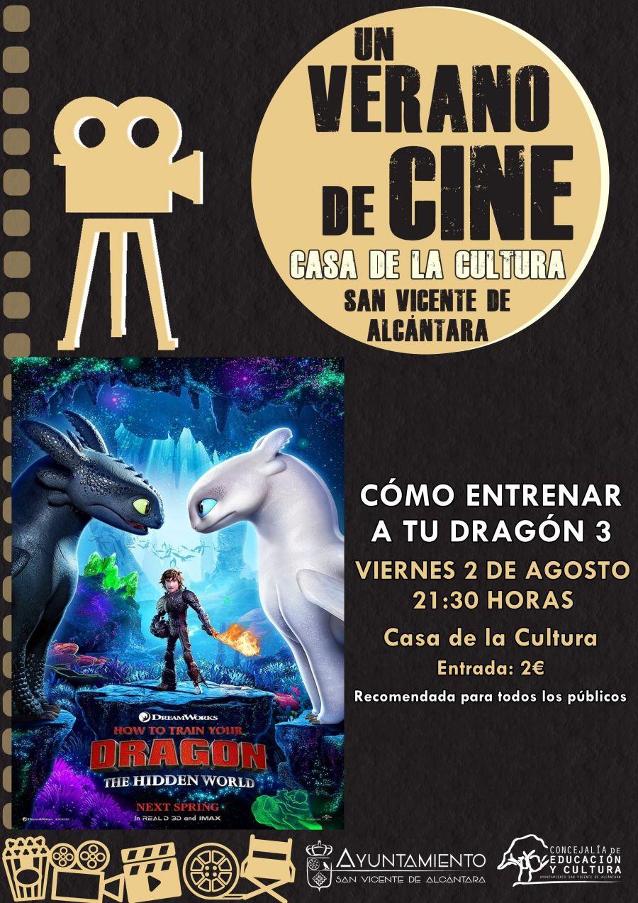 UN VERANO DE CINE - CÓMO ENTRENAR A TU DRAGÓN 3