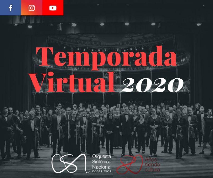 II Concierto de Temporada Virtual 2020. Orquesta Sinfónica Nacional