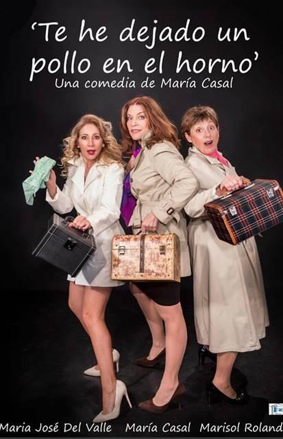 Teatro 'Te he dejado un pollo en el horno' || Casa de la Cultura Luis Landero