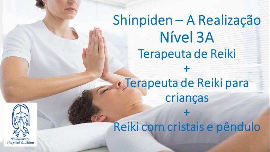 Curso de reiki nível 3A/ Terapeuta de Reiki