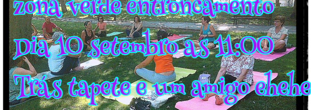 Yoga na zona verde - entroncamento