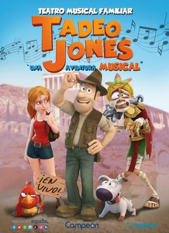 TADEO JONES una aventura musical