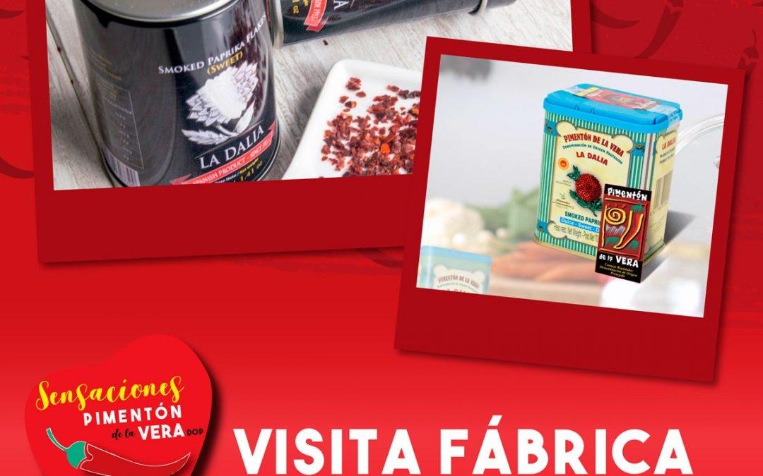 """Visita a la Fábrica Pimentón """"La Dalia"""""""