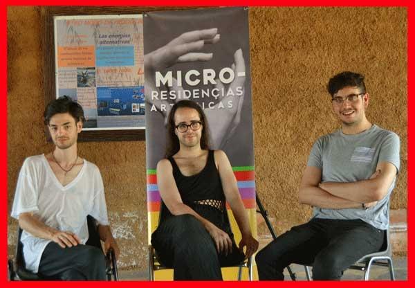 """MICRO-TALLERES con El Colectivo """"El Palomar"""" y Roberto Maqueda."""