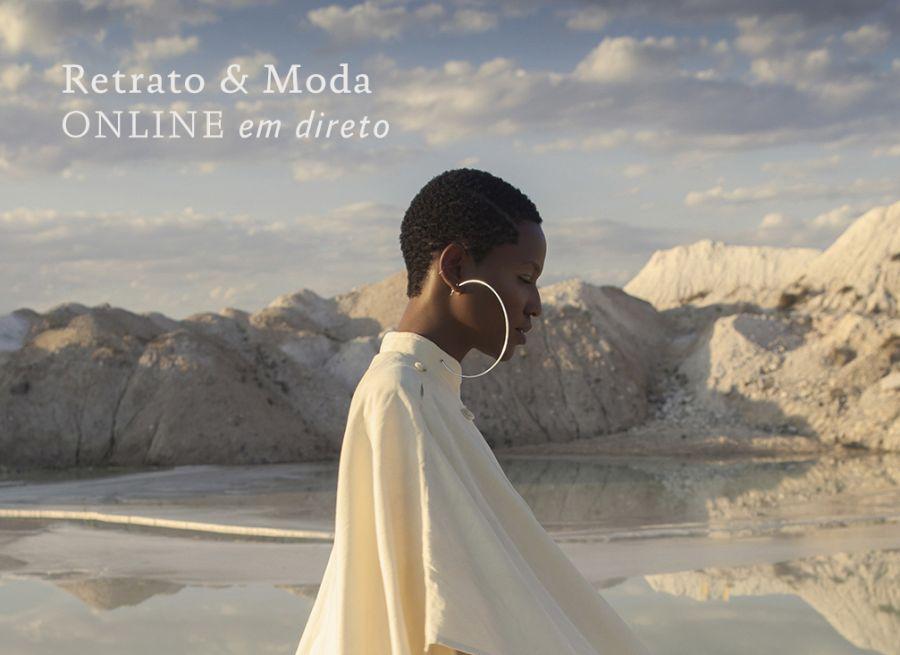 Curso Fotografia de Retrato e Moda ONLINE E EM DIRETO