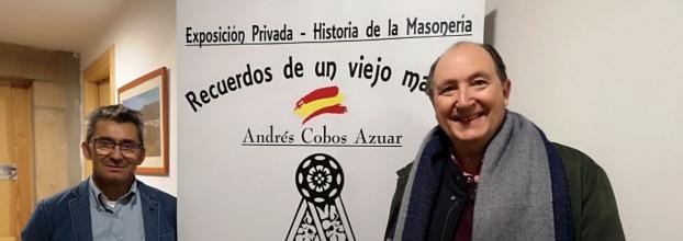 Inauguración Exposición Recuerdos de un Viejo Masón