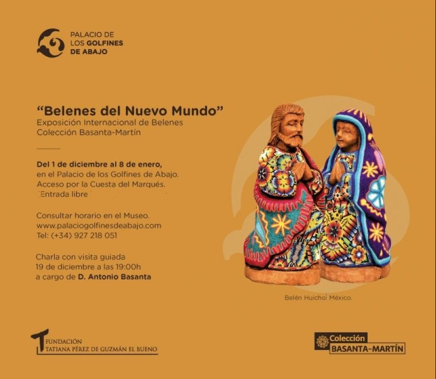 Exposición 'BELENES DEL NUEVO MUNDO'