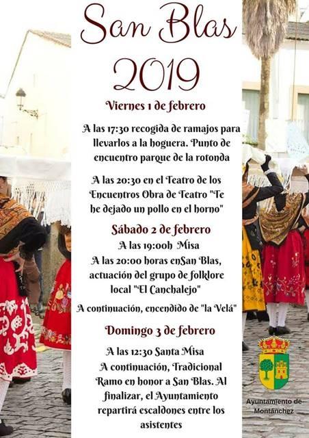 San Blas 2019 || Montánchez