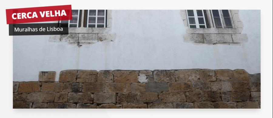 Cerca Velha: Muralha de Lisboa