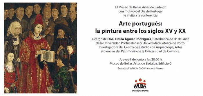 Conferencia «Arte portugués: la pintura entre los siglos XV y XX» || Dalila Aguilar Rodrigues