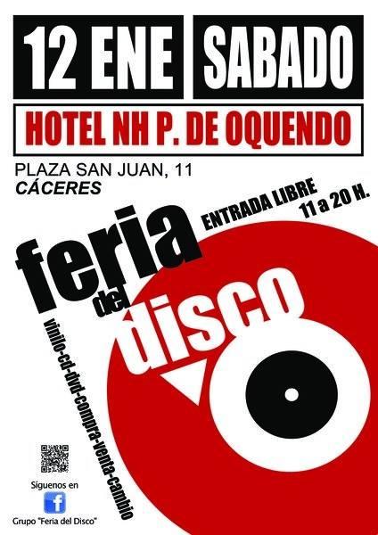 FERIA DEL DISCO en Cáceres | Hotel NH P. de Oquendo