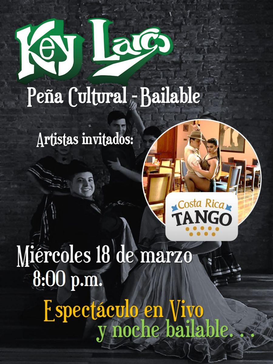 Peña cultural. Agrupación Folclórica Arruko. Bailable