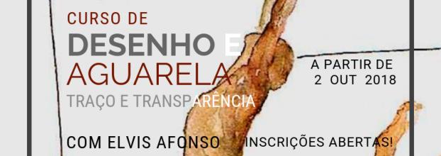 Curso de Desenho e Aguarela | Traço e Transparência